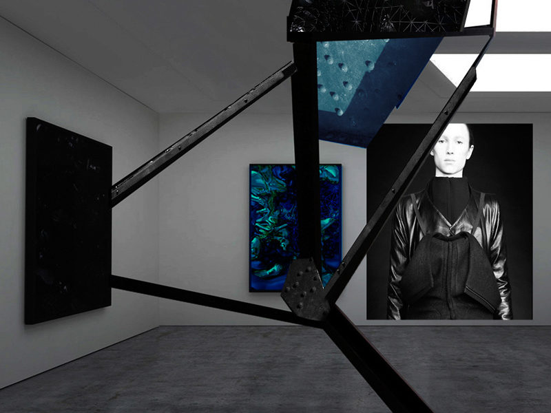RAD HOURANI X DESTRICTED . INSTALATION . SHOW DIGITAL EXPERIENCE