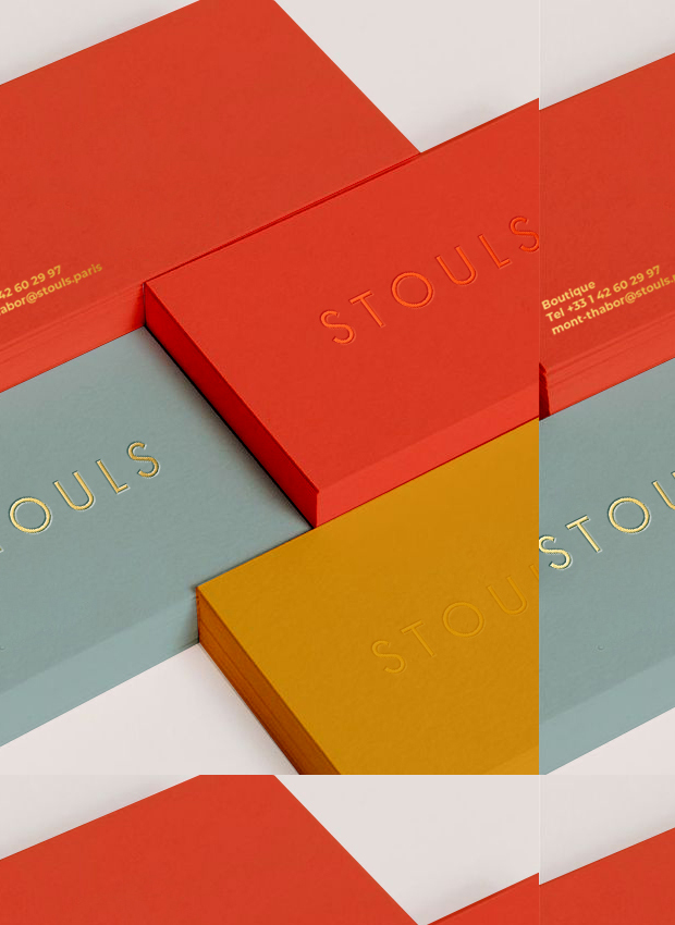 STOULS . Packaging and design