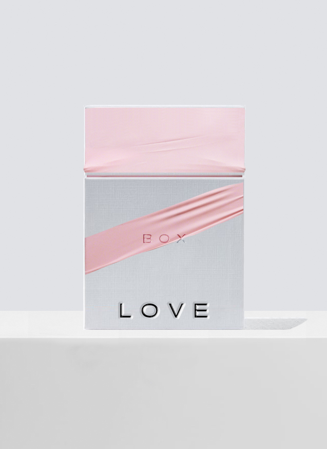 LOVE BOX. Packaging and design