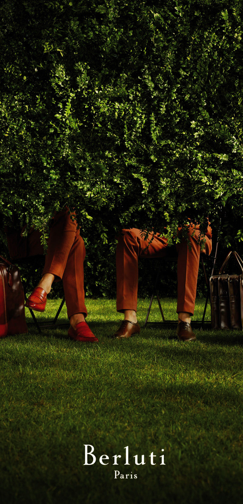 BERLUTI + Photographer Paul Lepreux . Stylist Darcy Backlar