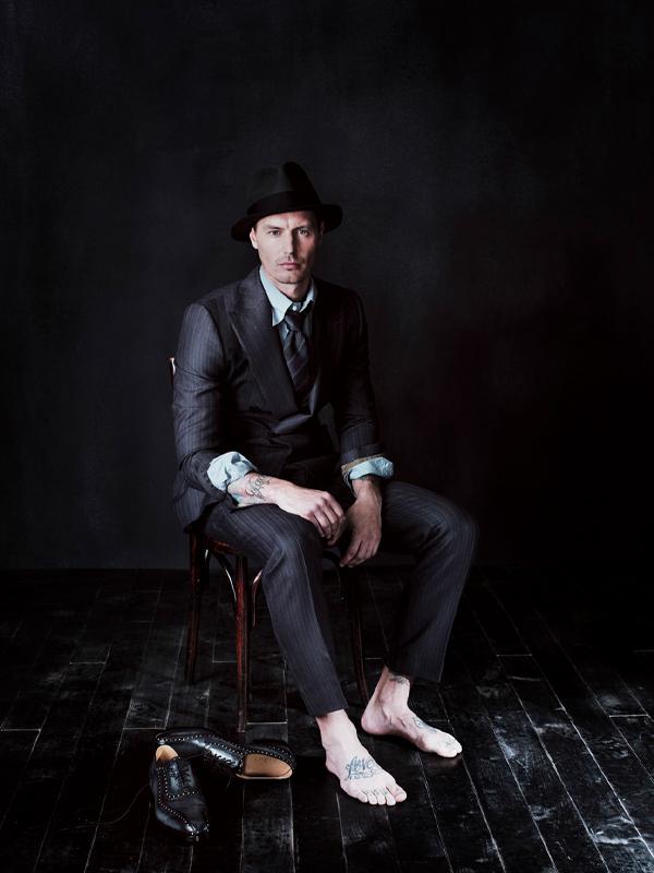 BERLUTI + Photographer Matthew Brooks.Stylist Serge Girardi