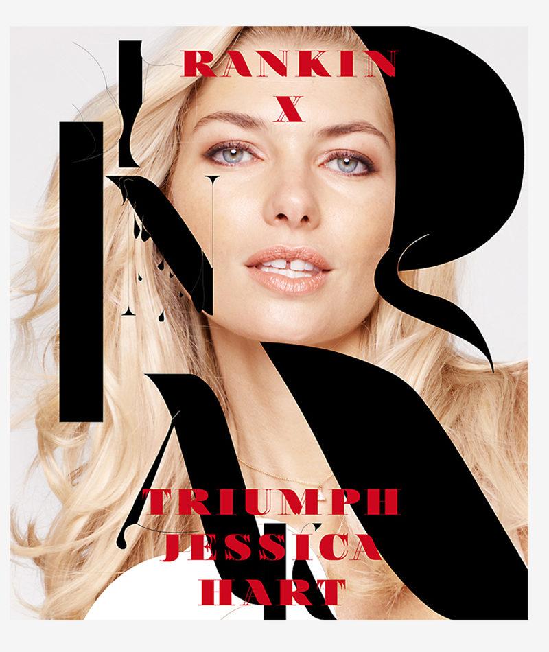 Triumph+Special project. Rankin x Jessica Hart